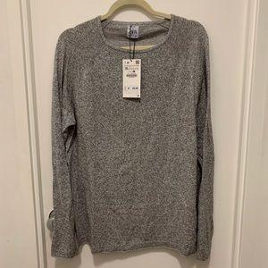 Zara men's grey sweater
